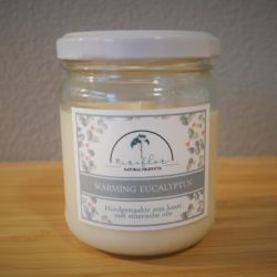 Eucalyptus met sinasappel kaars Miraflor Natural Products
